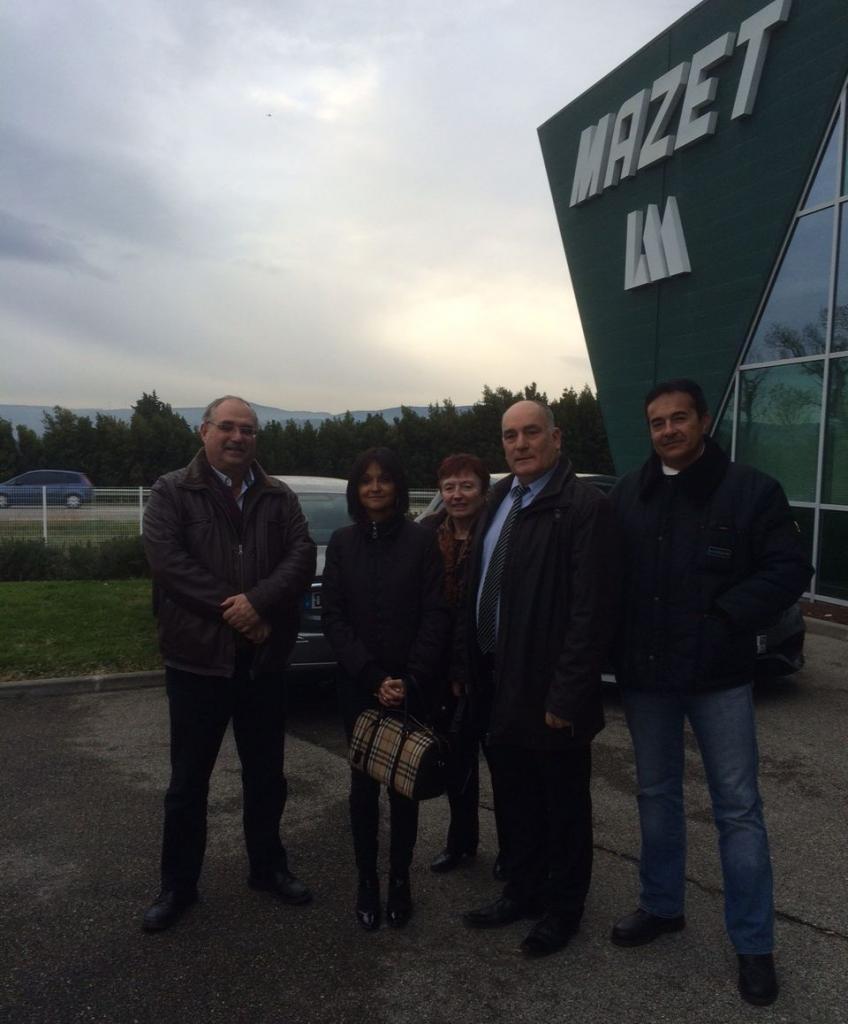 Visite de la société MAZET