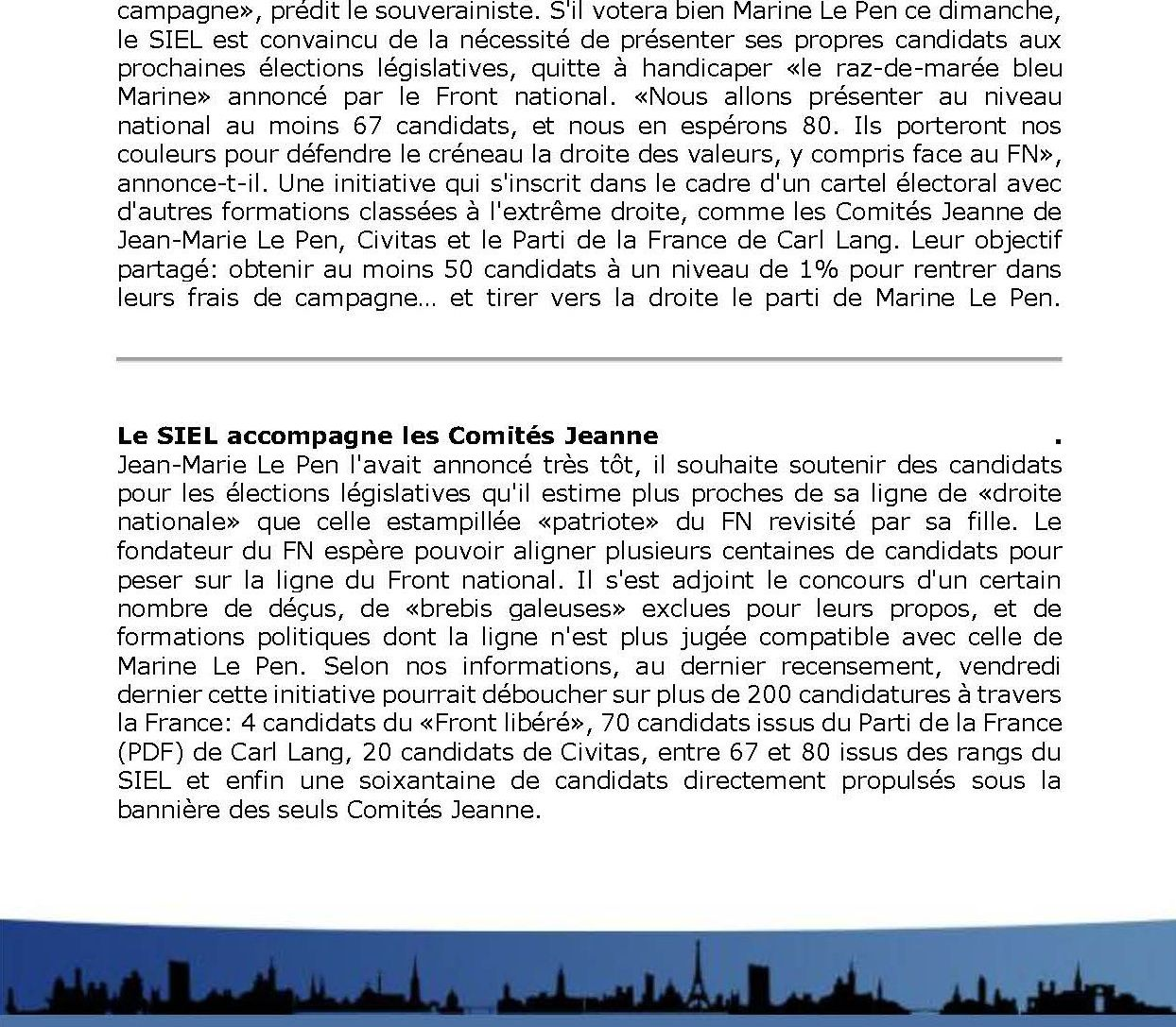 Legislatives du siel page 3